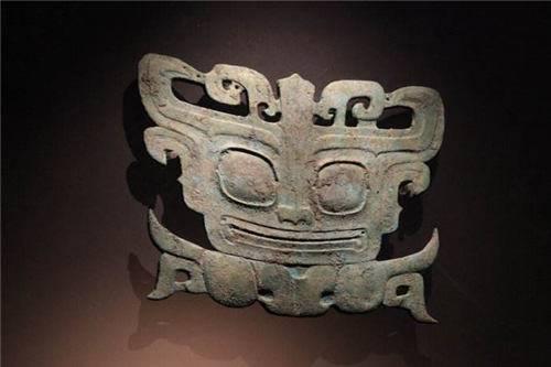 原始面具图案手绘图片