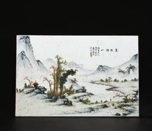 古代风景线描画法