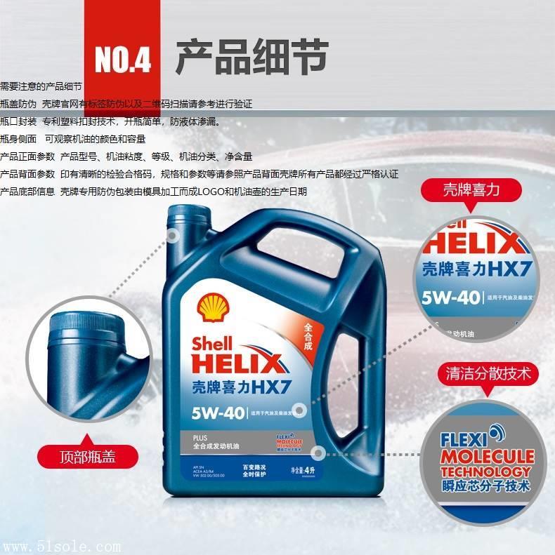 壳牌蓝壳全合成机油HX75W-40牛津布车用包图片
