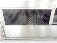 闭式冷却塔PVC进风窗   黑色粘接收水器