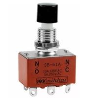 SB61A现货SB-61A进口按钮开关UL认证NKK按键