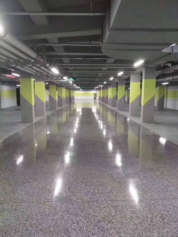 承接固化剂地坪染色施工/固化地坪工程报价