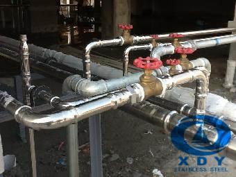高档小区专用 304不锈钢供水管 厂家直销