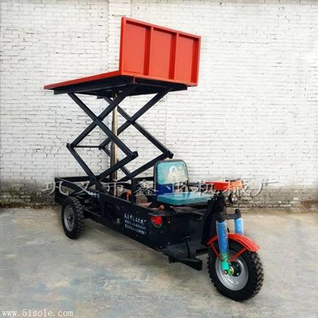 双十一工地拉砖电动三轮车 短途运输周转车 砖厂电动出窑车图片