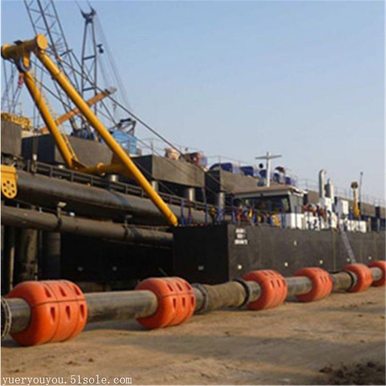 聚乙烯夹管浮筒 DN250mm抽沙管道配套浮筒