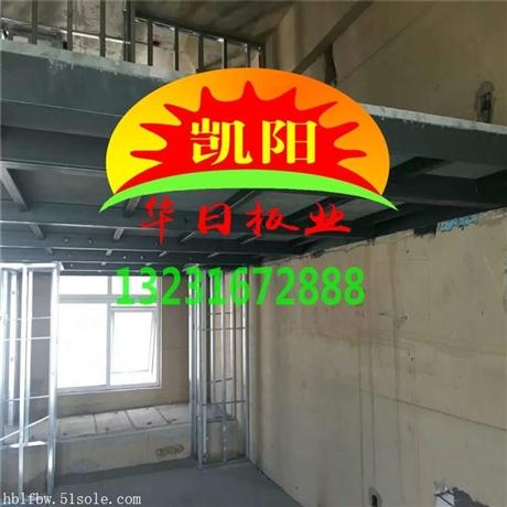 30mm厚纤维水泥板 水泥压力板墙 loft楼层板