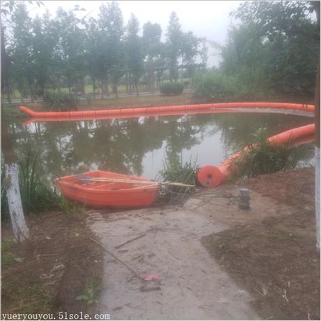 水电站漂浮式拦污排 水面自浮式塑料拦污浮筒