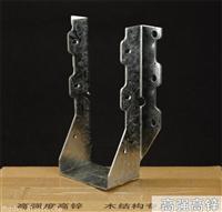 木屋连接件之金属梁托连接件-L型角码钉板连接件生产批发