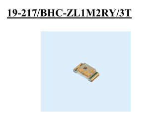 ELERLIGHT台湾亿光电子0603贴片蓝灯19-217/BHC-ZL1M2RY/3T