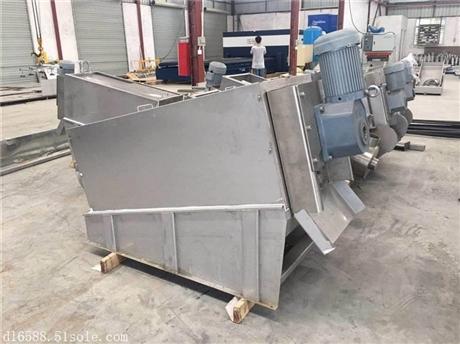 供应印染污泥处理设备叠螺机厂家