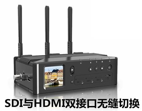 五网聚合直播编码器 SDI+HDMI双输入五网聚合4G直播编码器