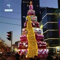 厂家直销大型圣诞树实力生产厂家