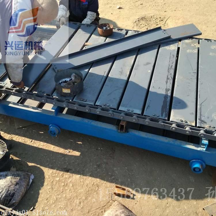 板链输送机厂家新品 链板输送机调试制造厂家安徽 鲁星机械