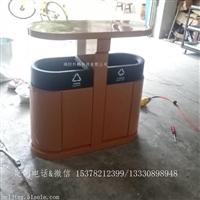 不锈钢椭圆形垃圾箱 景观工程垃圾桶 街道果皮箱 颜色可定制