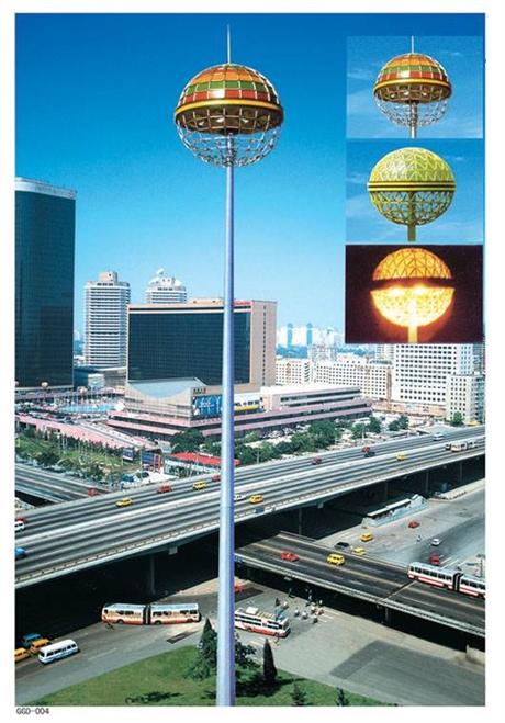 高邮高杆灯厂家生产15-40米高杆灯,LED高杆灯,升降式高杆灯