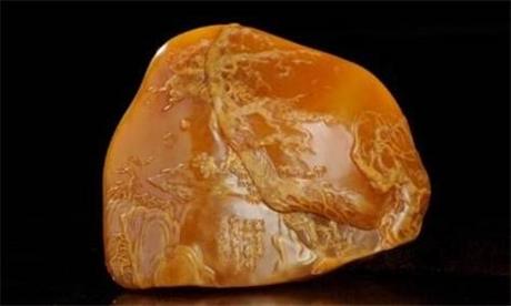 哪里可以鉴定交易三罗汉巴林石摆件
