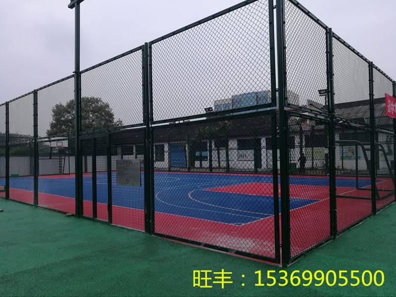 社区篮球场围网的常用规格