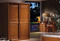 芜湖名邦家具全实木衣柜,橡木衣柜,中式衣柜