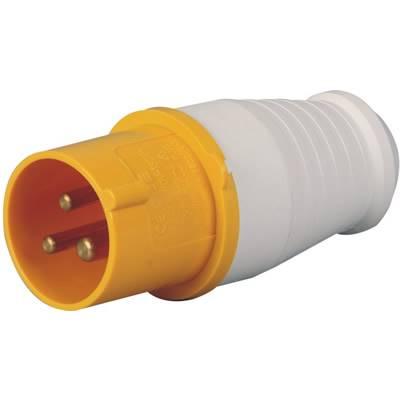 16A工业插头插座110v黄色CEE-013-4