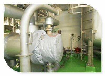 可拆卸柔性隔热套保温方案
