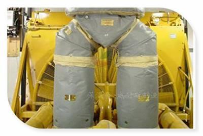可脱卸粮油厂保温衣流程