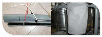 硫化机保温夹克阻燃耐高温