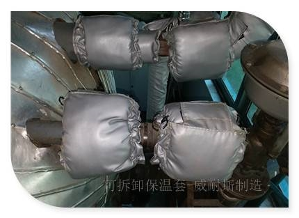 浏阳蒸汽阀门可拆卸式隔热套服务好