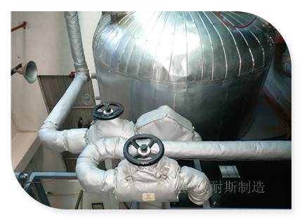 可拆卸纺丝厂隔热套性能