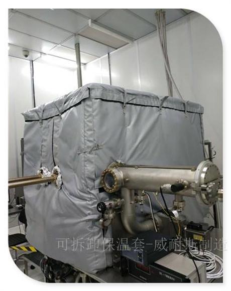 辽宁朝阳可拆卸式蒸汽管道保温套安装方便