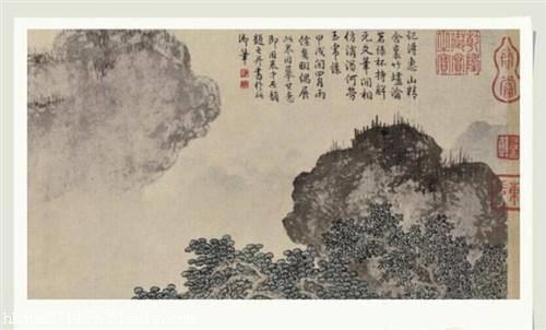 唐寅字画的特点与鉴定图片