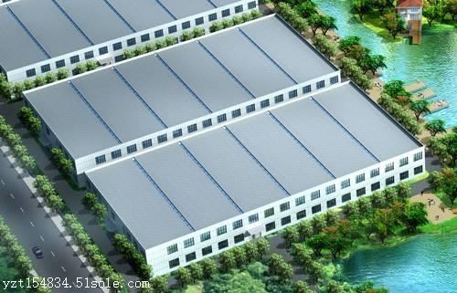 长春厂房设计-厂房设计公司-效果图