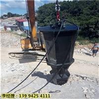 吉林梅河口市大型开采石头挖裂机-节省时间