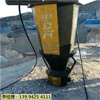 陕西商洛市矿山石材开采大型分裂机-作业视频
