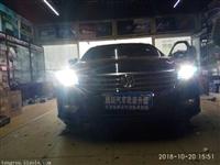 帕萨特改装氙气灯正品Q5双光透镜石家庄腾跃车灯升级