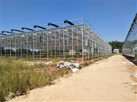 陕西高度自动化物联网温室大棚玻璃框架、5米肩高承建公司