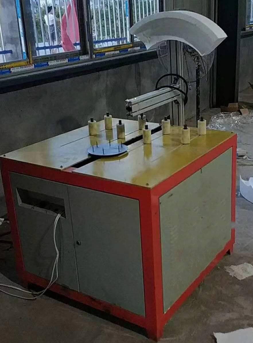 青海省海西市全自动泡沫圆弧机