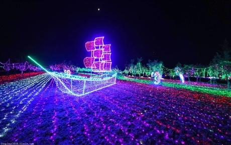 梦幻灯光节策划火爆来袭 灯光展策划效果 真是太惊艳了