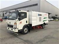 重汽豪沃5吨小型扫路车厂家直销