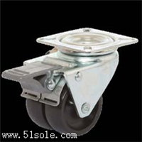 應用輕負荷家具32系列尼龍材質意大利TR腳輪媲美Blickle