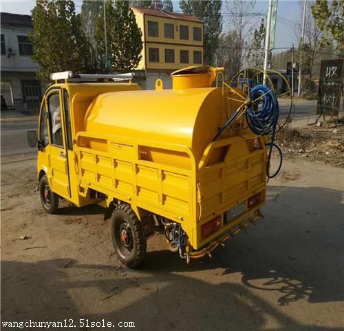 小型电动三轮洒水车 电动洒水车 工地绿化电动洒水车厂家