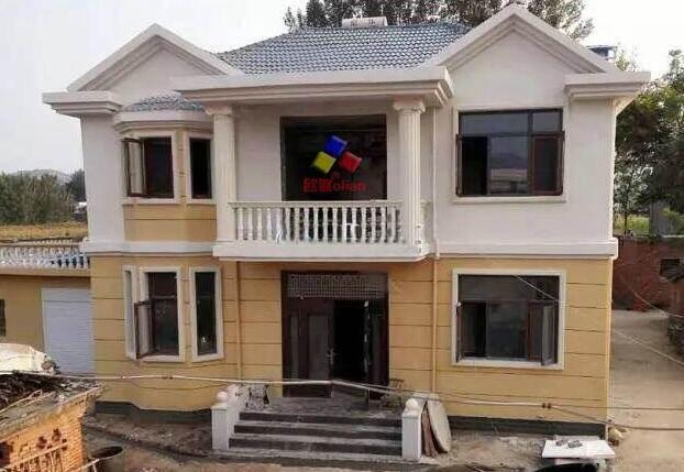 二层小别墅设计