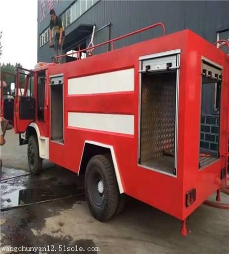 城市乡镇专用3吨5吨水罐消防车厂家直销