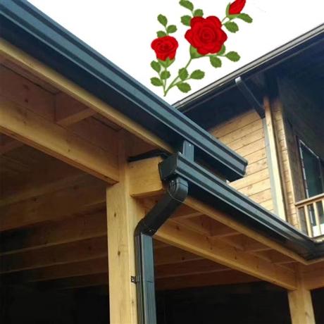 別墅K型檐溝價格屋檐接水槽