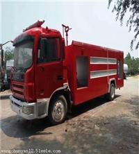 3吨水罐消防车多少钱 枣庄的消防车厂家