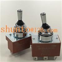 NKK钮子S-25AW/B二档小型泵车遥控器防尘扭子开关