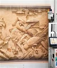 深圳合众3d喷画机墙体彩绘机绘画机UV打印机