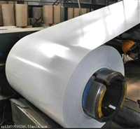 冠洲白色彩涂卷0.6厚度 重視合同確保質量