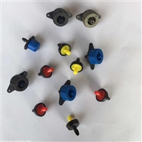 灌溉工具 压力补偿自清洗式滴头稳流器 自清洗式滴头稳流器