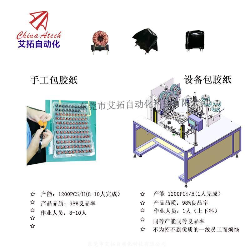 自动包胶纸机变压器绝缘胶纸包裹