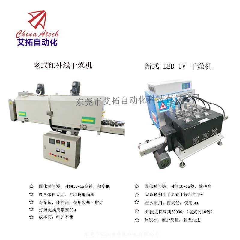 自动高能LED干燥机电子元器件的点胶固化